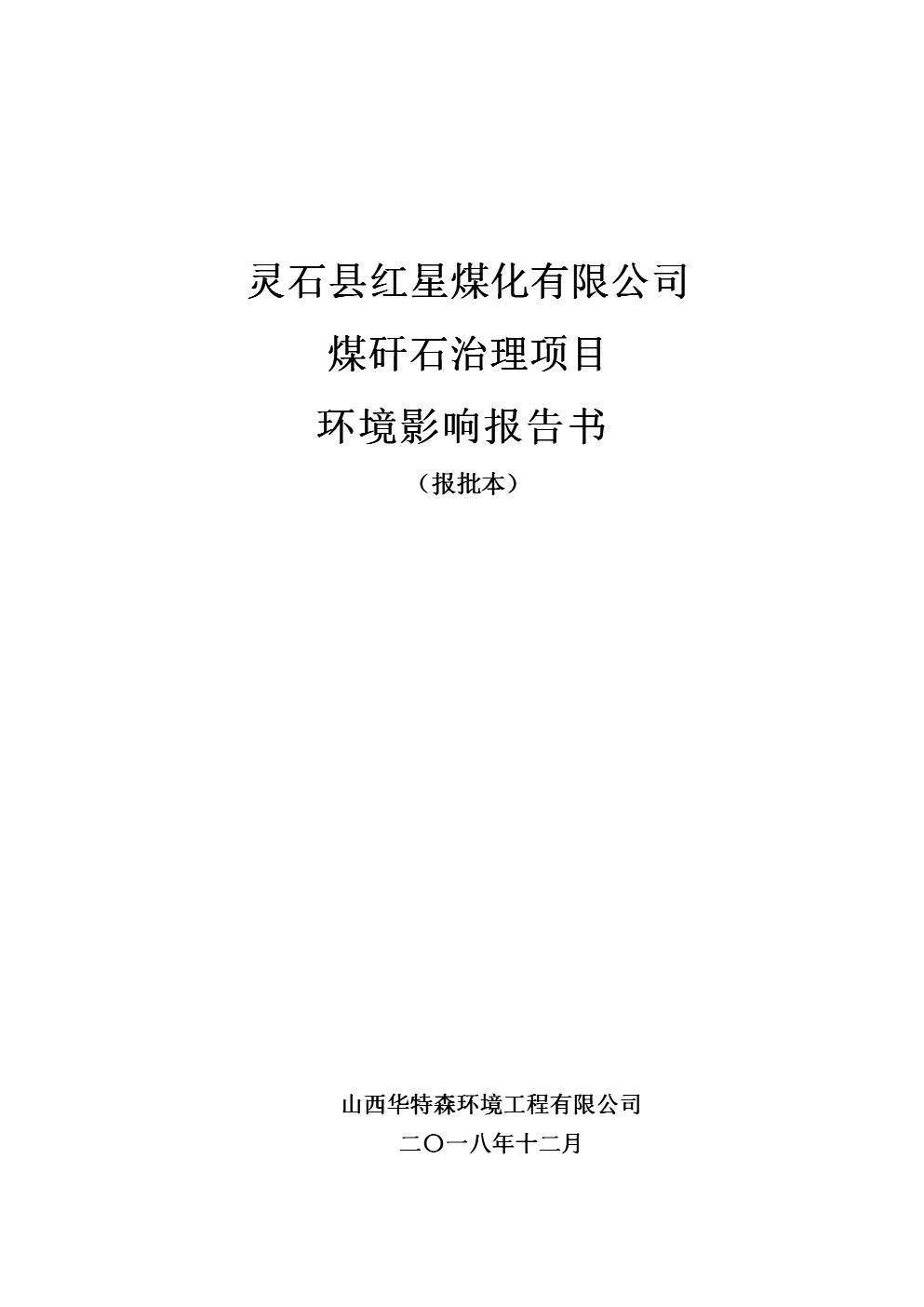 分手囹�a�i)�aj_2019年灵石县红星煤化有限公司.doc