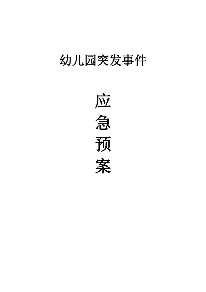 中心幼儿园突发事件应急预案.pdf