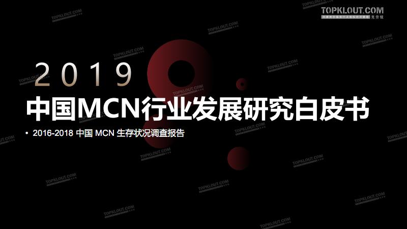 2019中国MCN行业发展白皮书.pdf