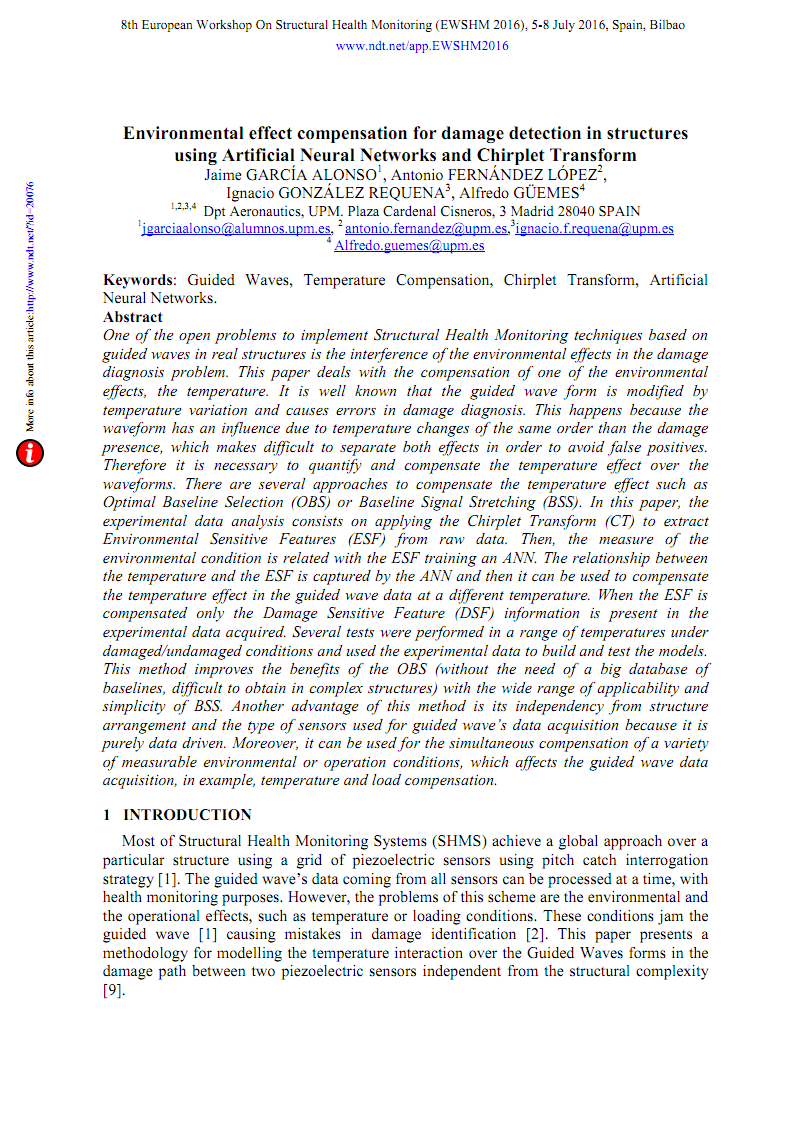 Environmental effect compensation for damage detection in structures using Artificial Neural Networks and Chirplet Transform-福利档文献求助平台-微信17610240716.pdf