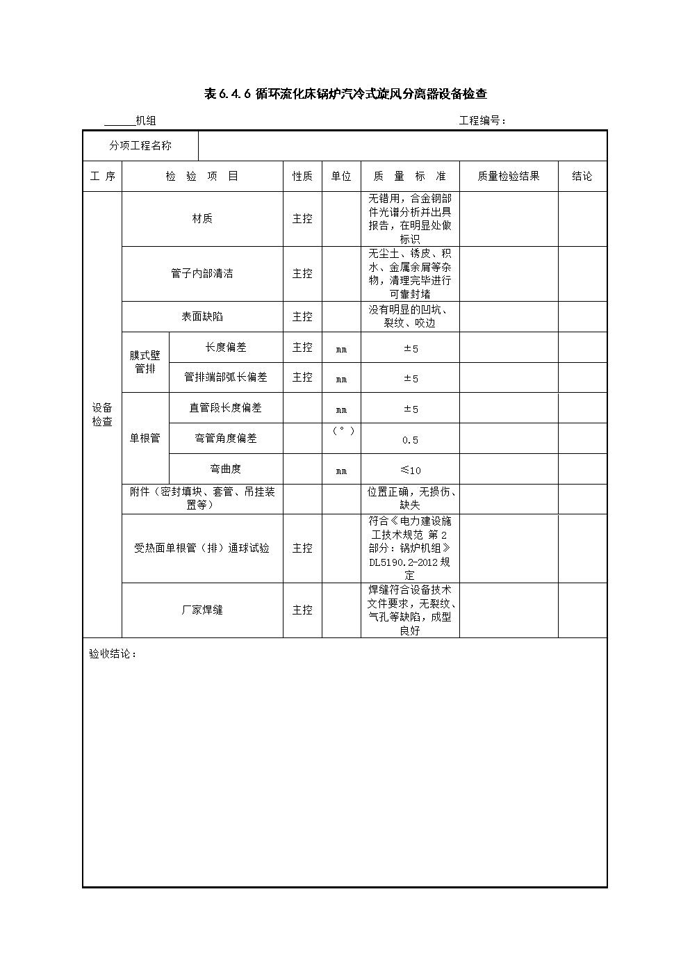 锅炉本体安装2018最新电子版表格3(DL5210.2-2018).doc