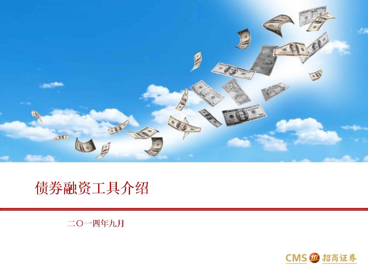 债权融资工具介绍.ppt