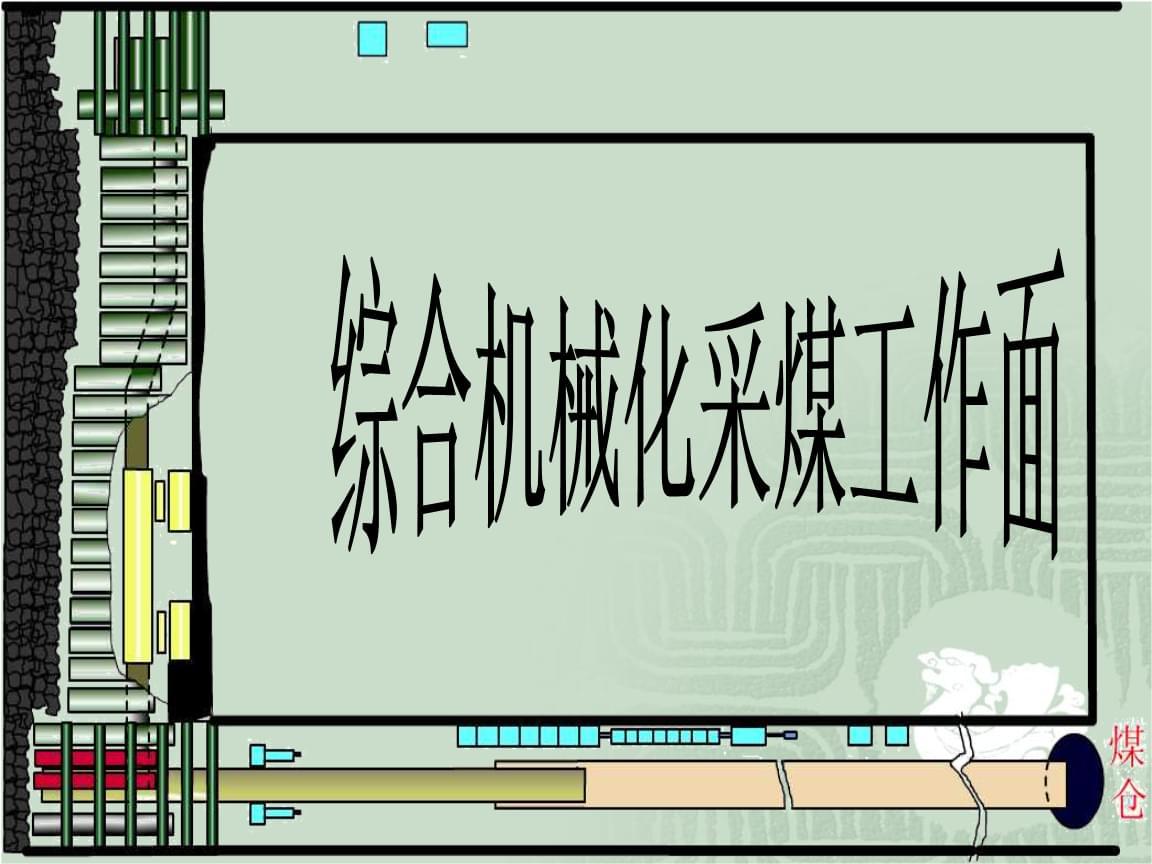 综采工教材作面设备简介.ppt