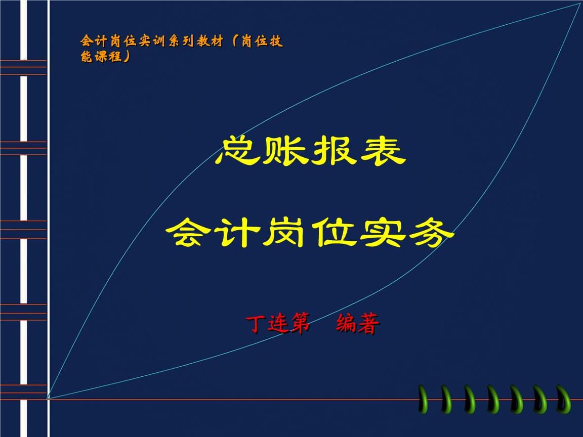 总账报教材表会计岗位实务.ppt