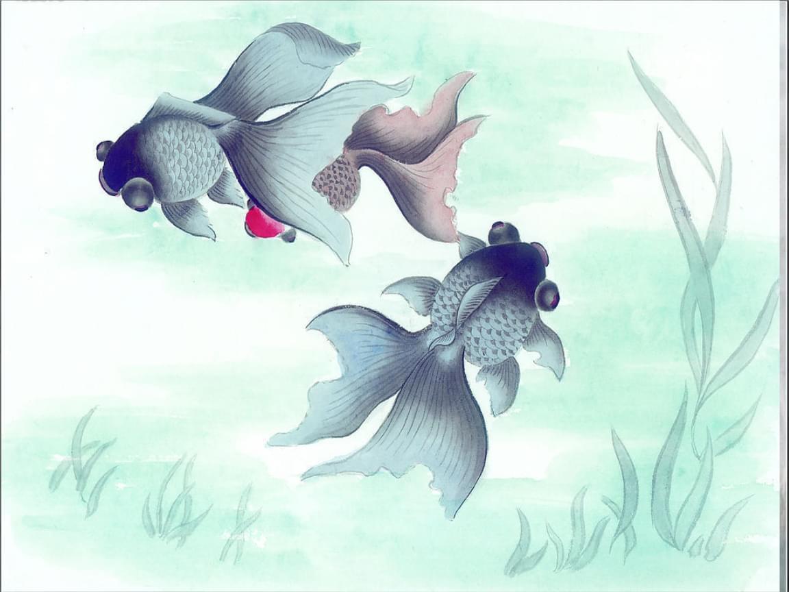 《鱼游到了纸上》课件2.ppt