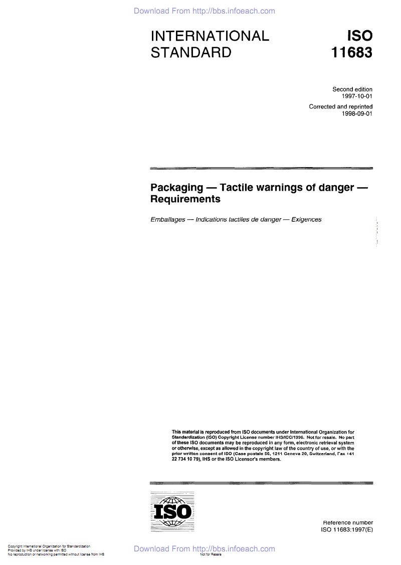 《包装 触摸危险标志 要求》(ISO11683-1997).PDF