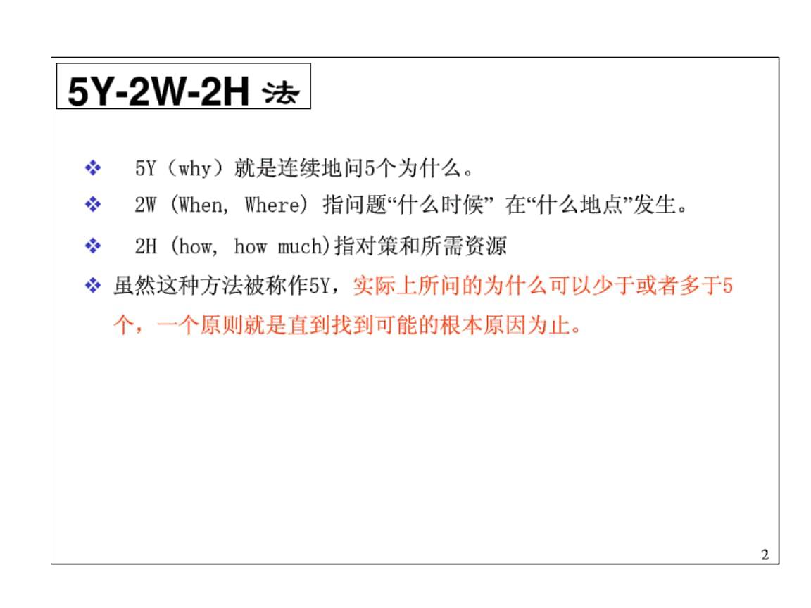5Y-2E-2H分析问题手法.pptx