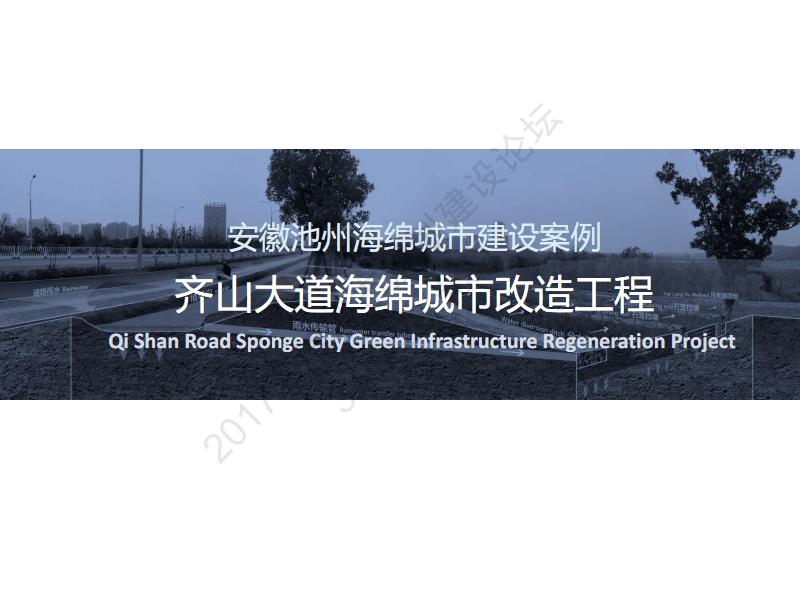 赵杨:安徽池州海绵城市建设案例——齐山大道海绵城市改造工程.pdf