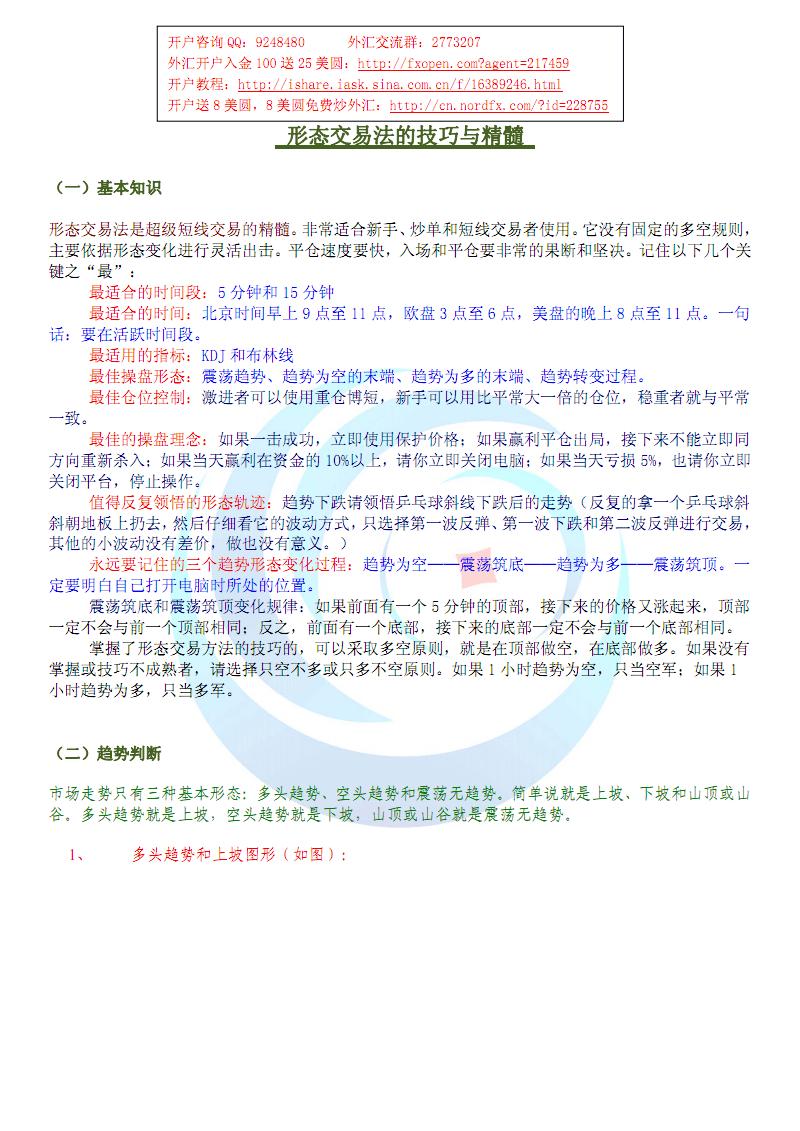 形态交易法交易技巧和精髓.pdf