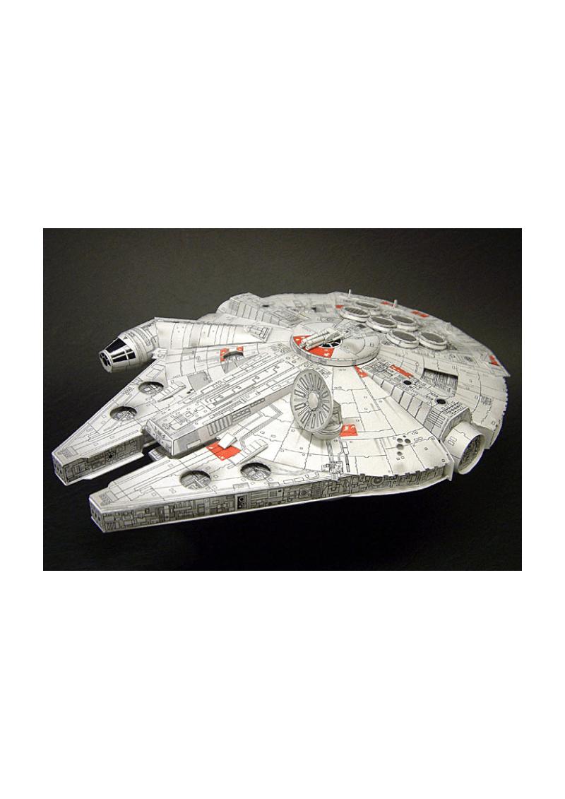 机体装备道具纸模星球大战之YT-1300.pdf