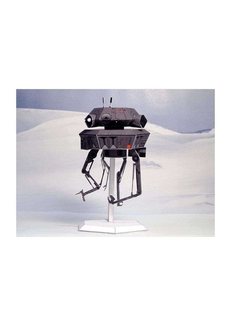 机体装备道具纸模星球大战之侦查机器人纸模图纸.pdf