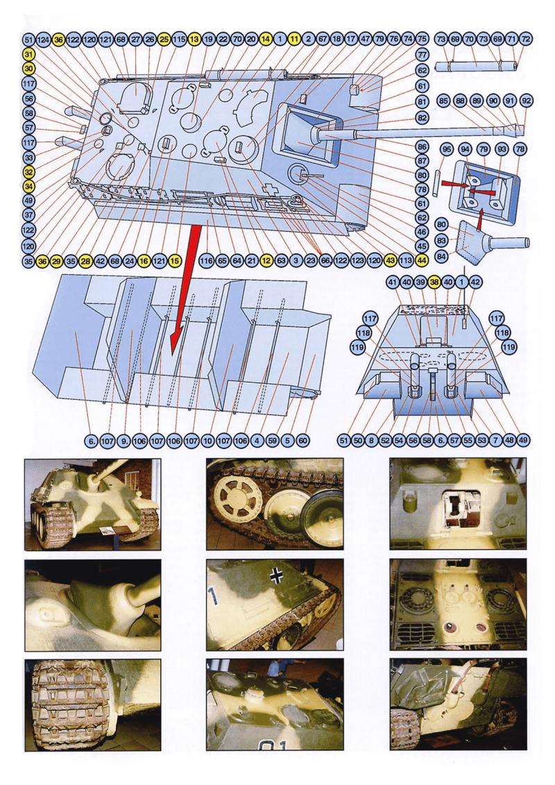 纸模模型图纸二战装甲车辆Sd.Kfz.173 Jagdpanther.pdf