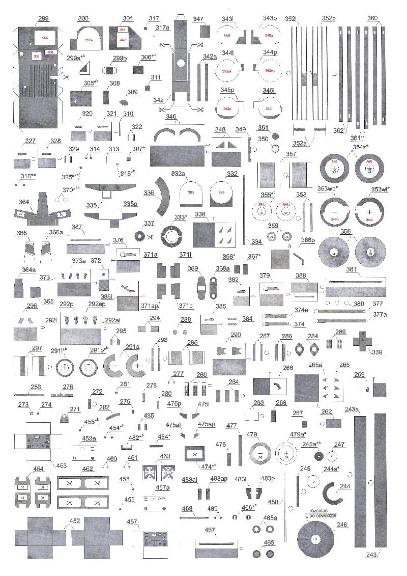 纸模模型图纸二战装甲车辆PzKpfw 38(t) Ausf.A-B-C.pdf