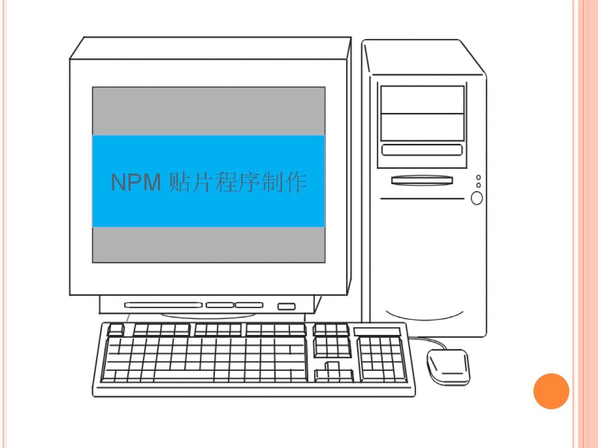 NPM程序制作方法.ppt