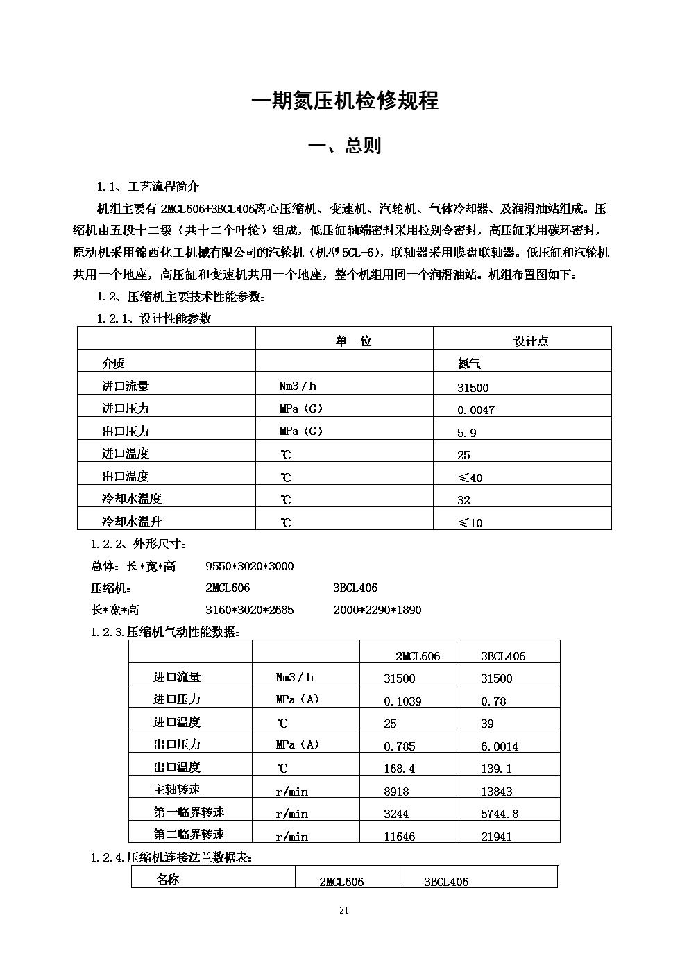 一期氮压机检修规程.doc