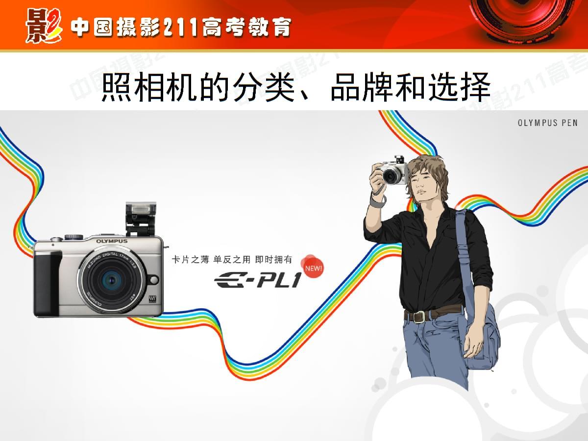 相机的分类品牌和选择.ppt