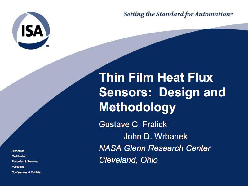 薄膜热流传感器的设计与方法.pdf