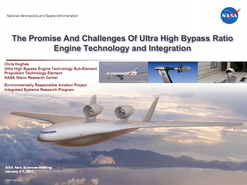 超高涵道比发动机技术与集成的前景与挑战.pdf