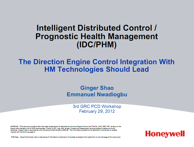 NASA智能分布式控制预测健康管理 (IDC-PHM).pdf