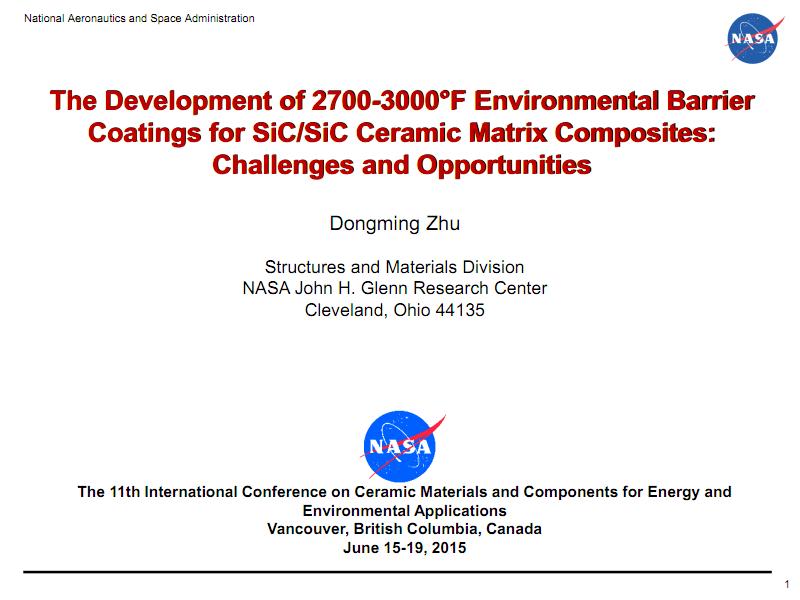 SiC-SiC陶瓷基复合材料保护涂层的研制挑战与机遇.pdf