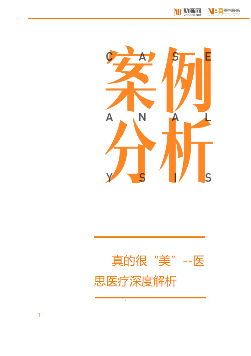 """真的很""""美""""--2019医思医疗深度解析.pdf"""