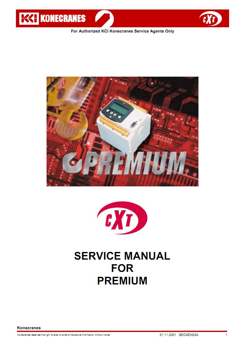 cxt起重机高级维修手册.pdf图片