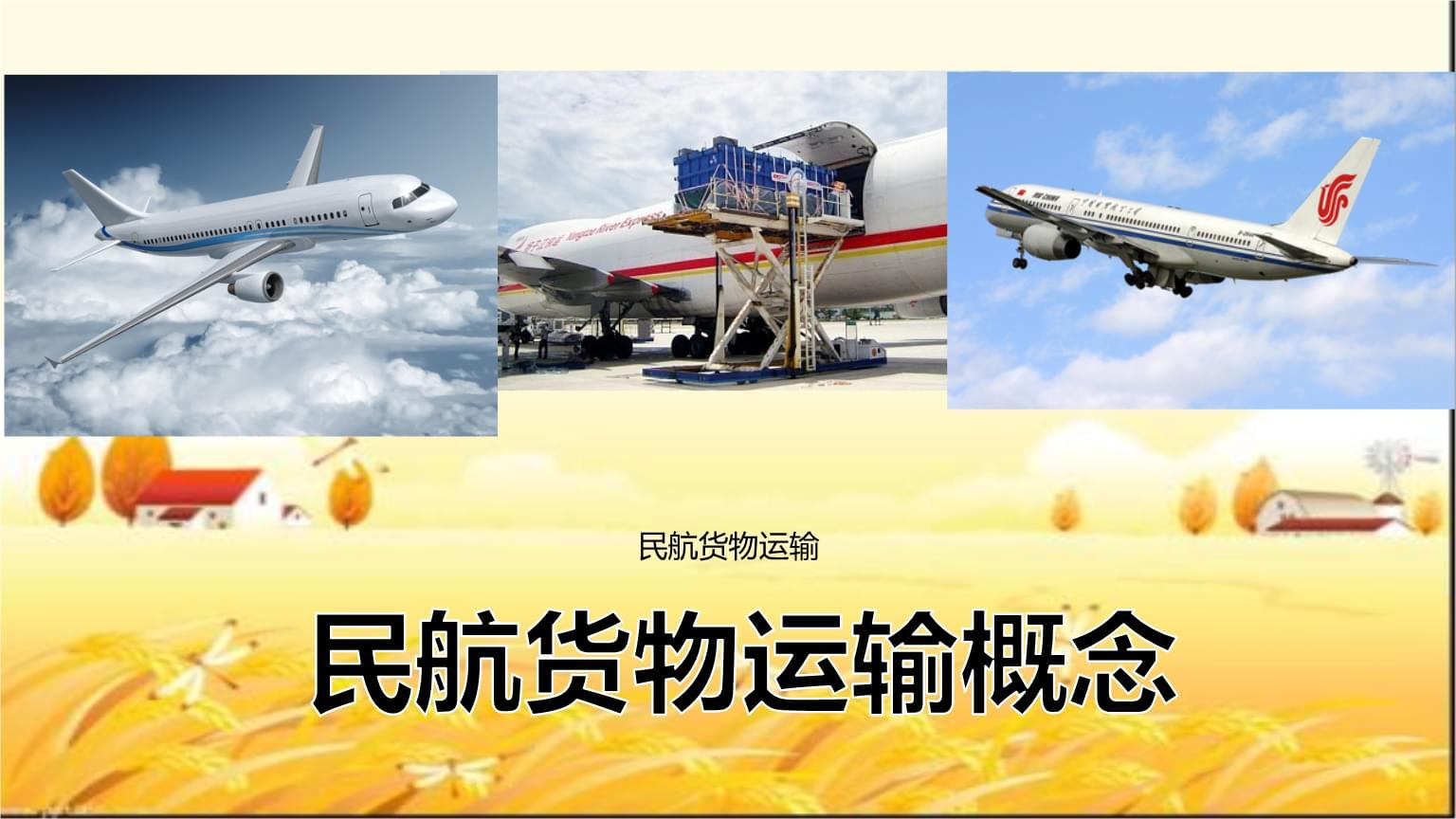 民航货物运输概念.pptx
