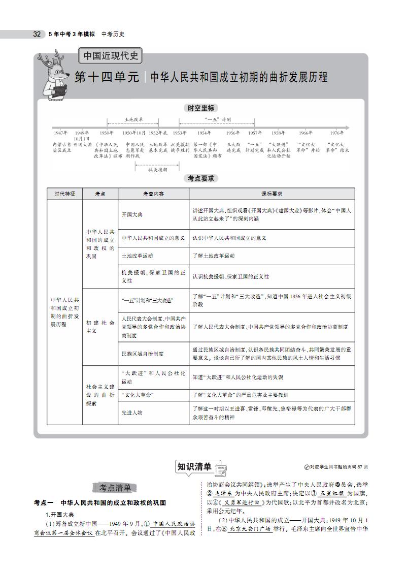 第十四单元 中华人民共和国成立初期的曲折发展历程.pdf