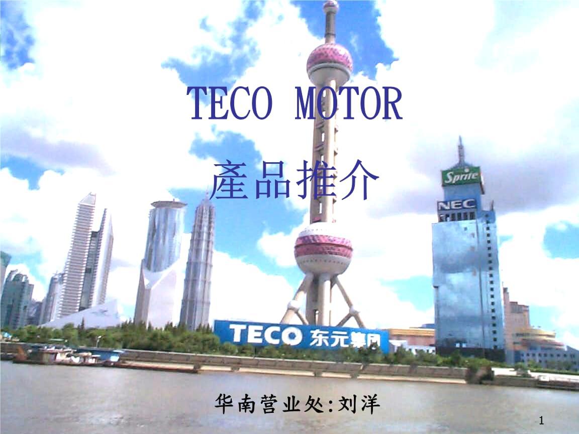 TECO东元电机简介.ppt