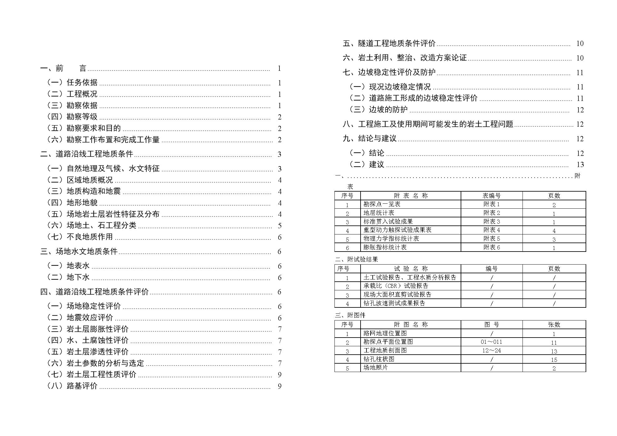 路网二期勘察报告.doc