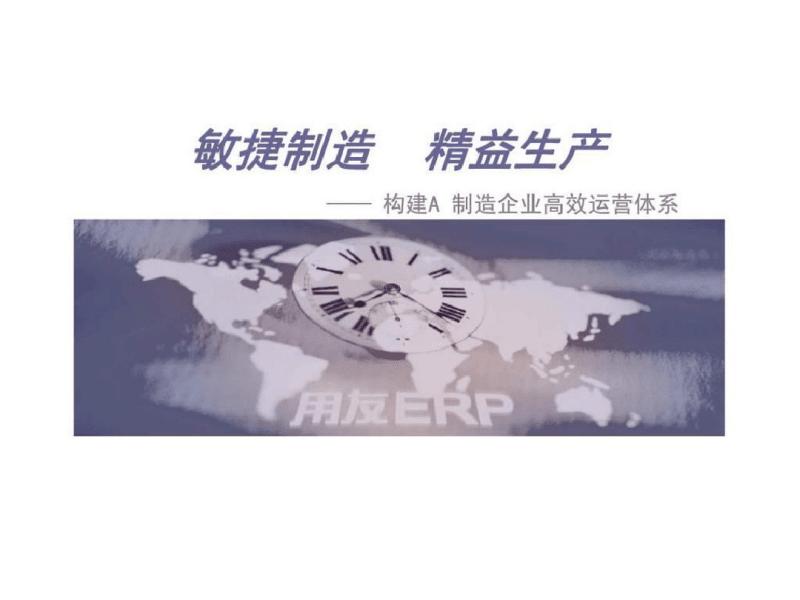 敏捷制造精益生产——构建A制造企业高效运营体系.pdf