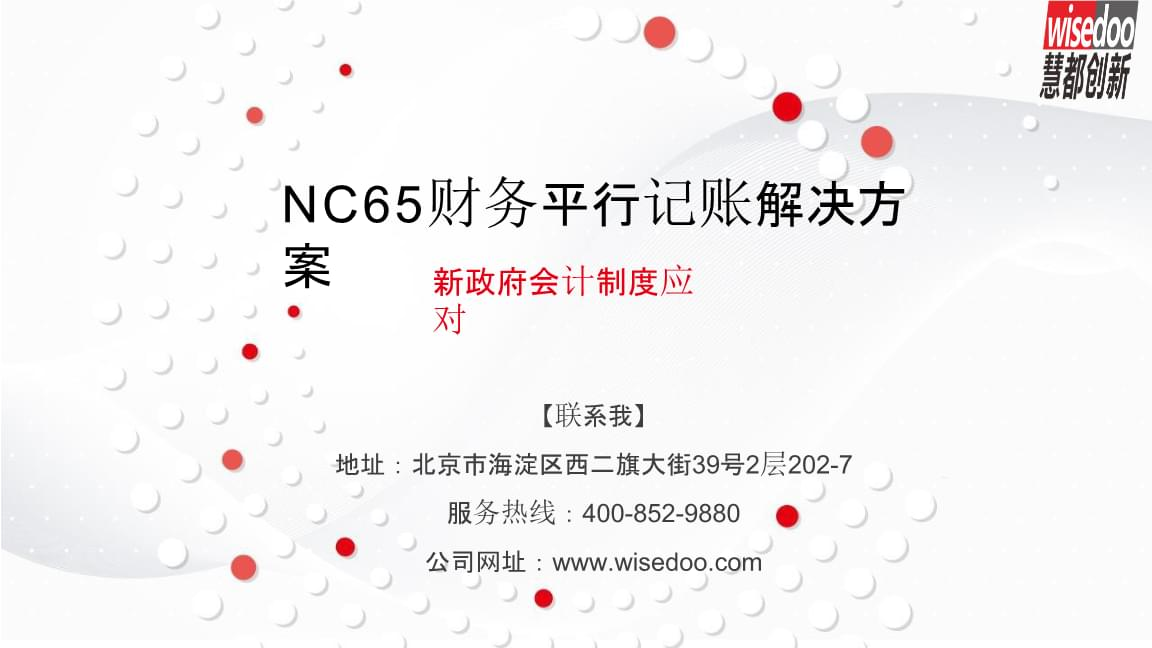 NC65财务平行记账解决方案.pptx