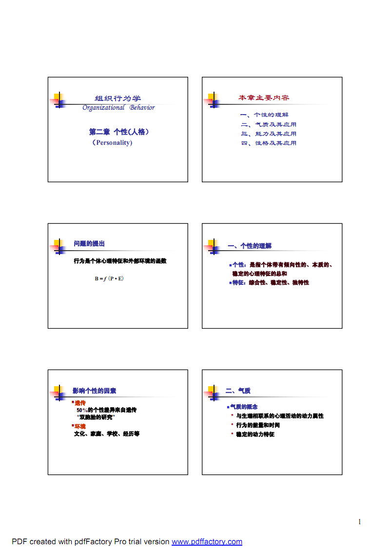 组织行为学个性.pdf