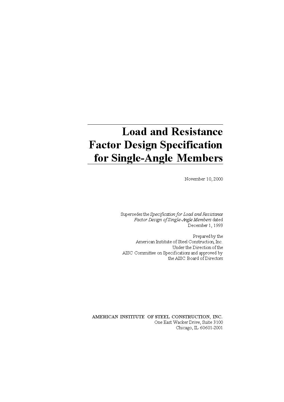 美国钢结构学会-单角钢规范英文原版.docx