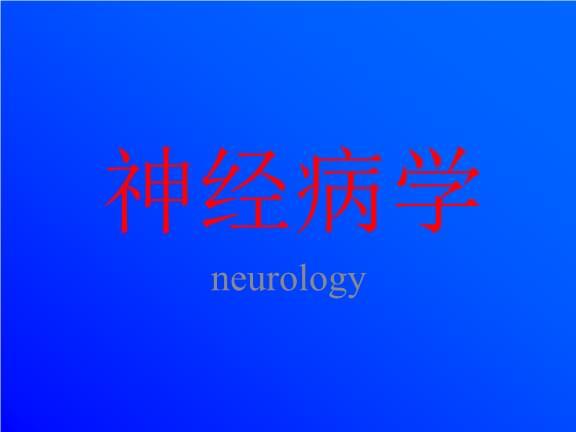 中文医学多媒体课件:神经病学.ppt