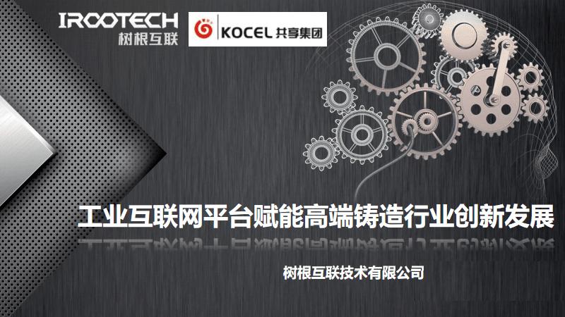 工业互联网平台赋能高端铸造行业创新发展.pdf