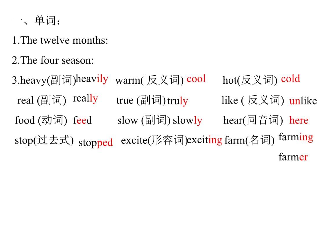 九年级的英语上期末常错题复习3.ppt