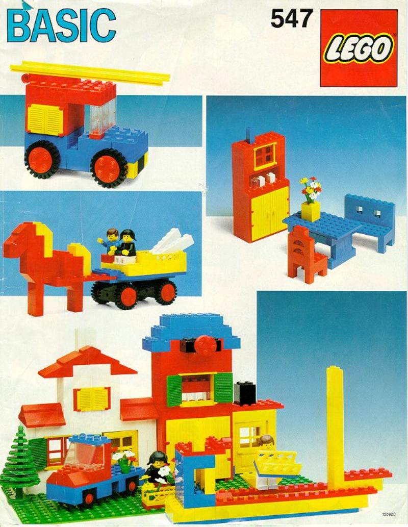 乐高玩法和图纸大全547 - Basic Building Set.pdf