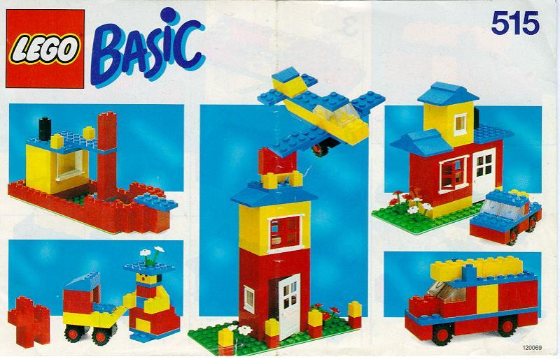 乐高玩法和图纸大全515.2 - Basic Building Set.pdf