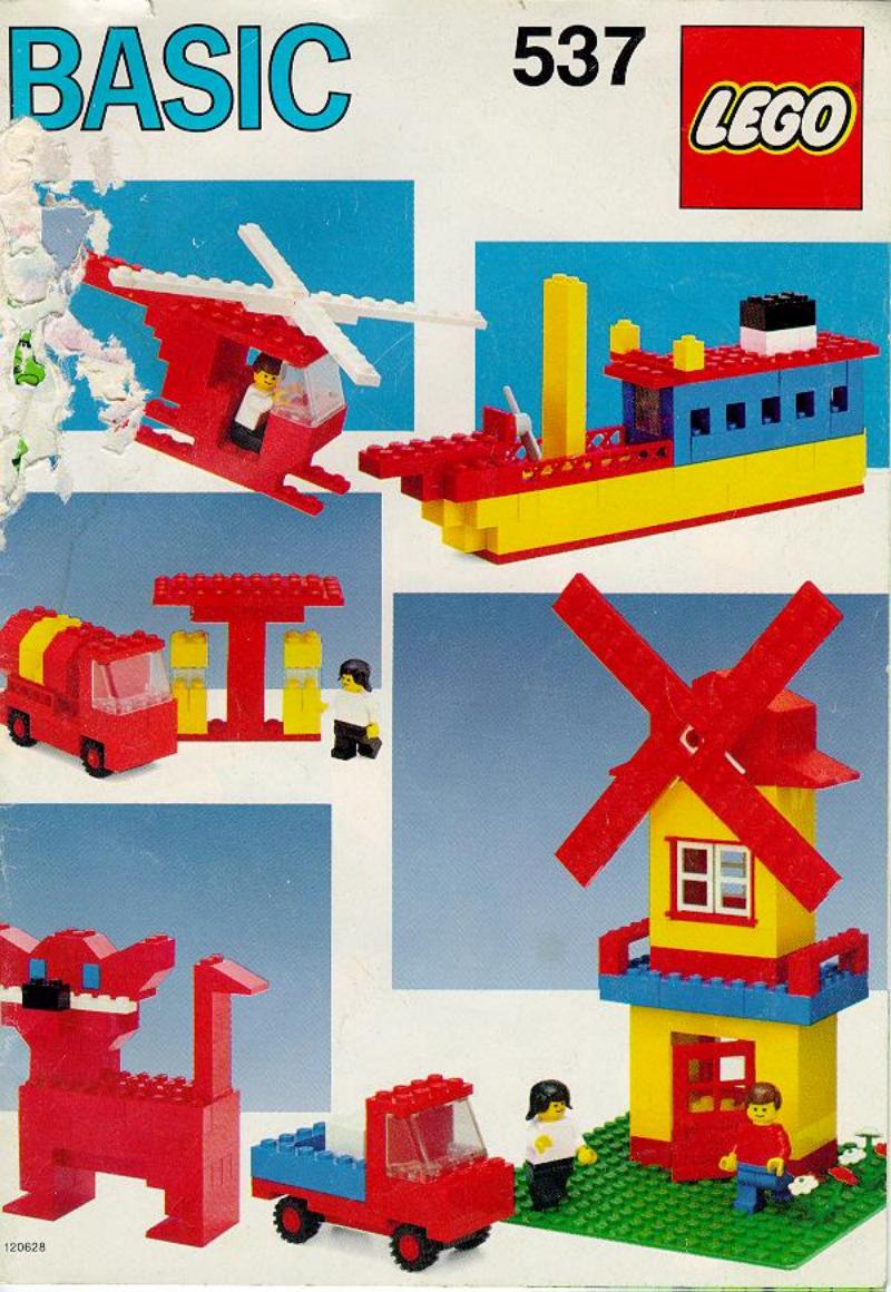 乐高玩法和图纸大全537.2 - Basic Building Set.pdf