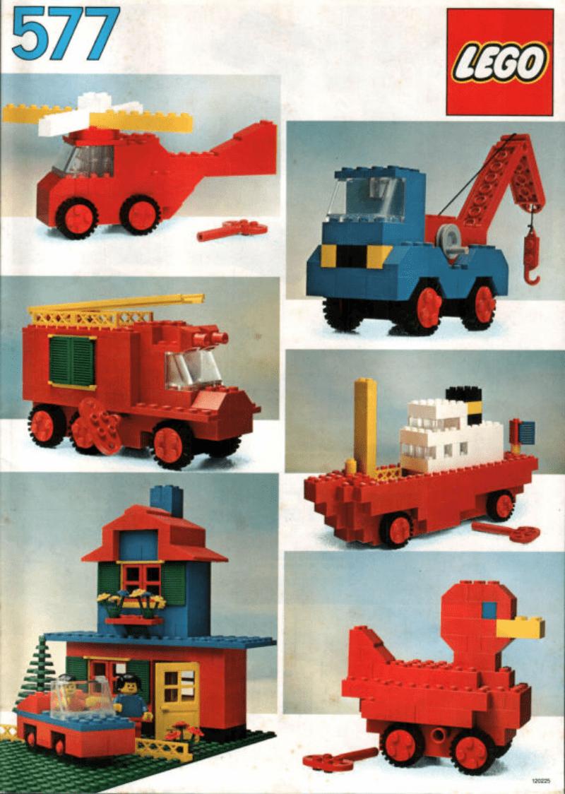 乐高玩法和图纸大全577 - Universal Building Set.pdf