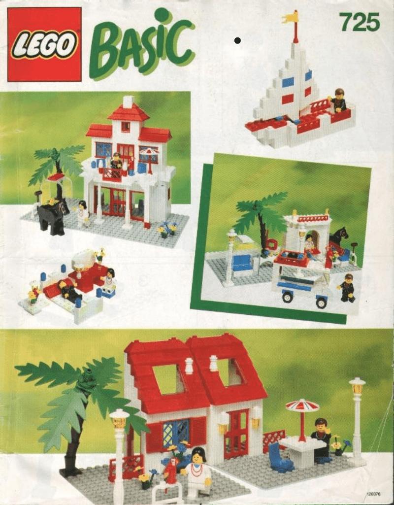 乐高玩法和图纸大全725.1 - Basic Building Set (Houses).pdf
