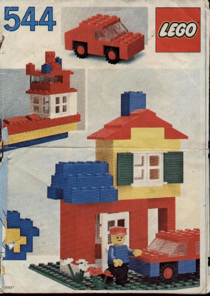乐高玩法和图纸大全544 - Universal Building Set.pdf
