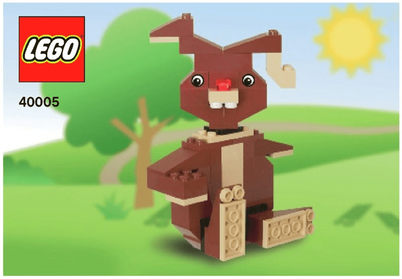 乐高玩法和图纸大全40005-Bunny.pdf