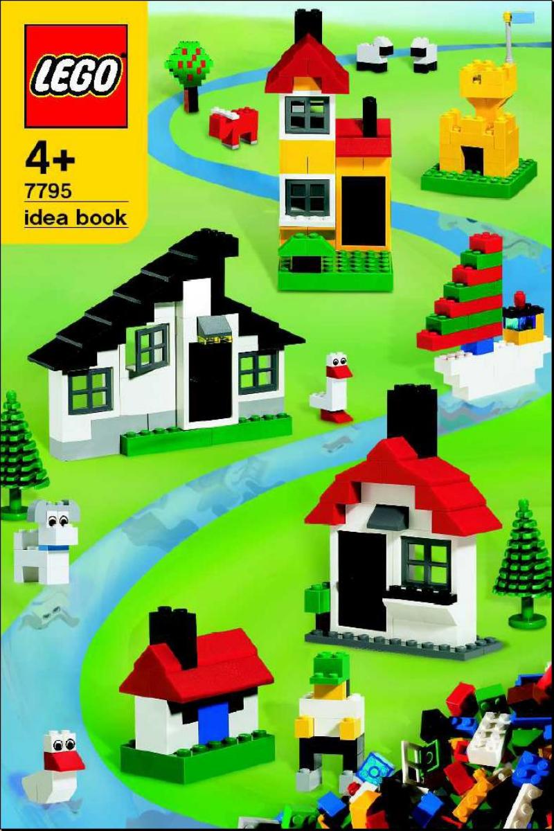 乐高玩法和图纸大全7795 - Deluxe Starter Set.pdf