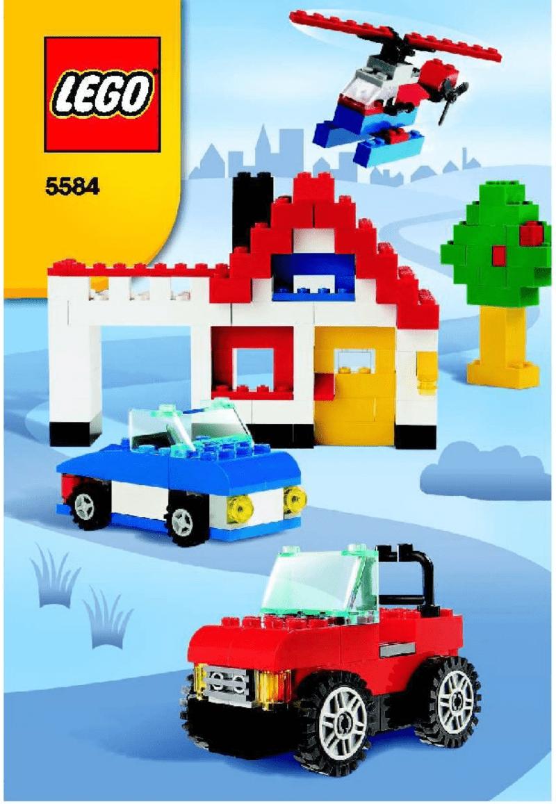 乐高玩法和图纸大全5584 - Fun with wheels.pdf