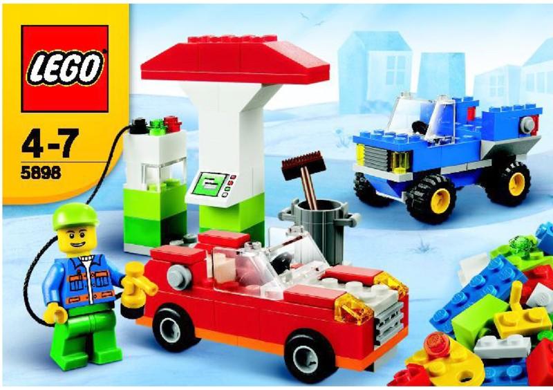 乐高玩法和图纸大全5898 - Cars building set.pdf