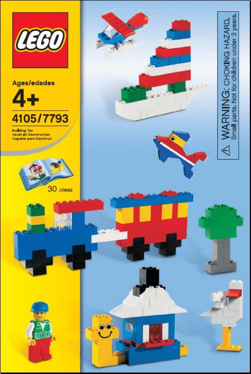 乐高玩法和图纸大全7793 - Standard Starter Set.pdf