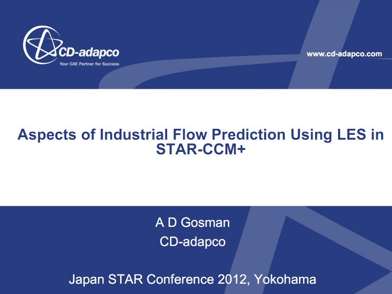STAR-CCM+中的大涡模拟在工业流动预测中的应用.pdf