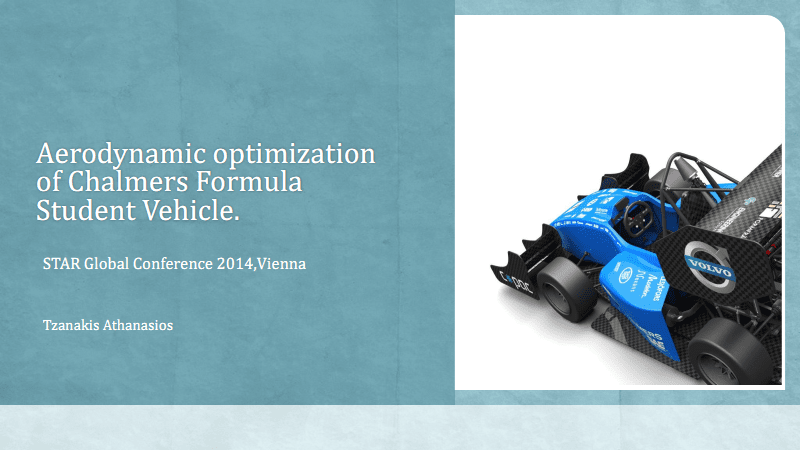使用STAR-CCM+进行Chalmers方程式学生车的气动优化.pdf